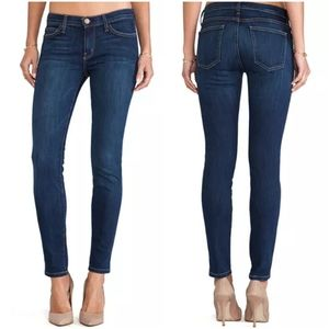 Current Elliott The Ankle Skinny Jeans 25 Dark
